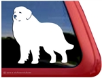 Custom Great Pyrenees Dog Car Truck RV Window Decal Sticker