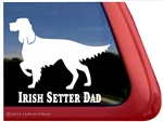 Irish Setter Window Decal