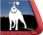 Jack Russell Terrier Window Decal