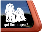 Lhasa Apso Window Decal