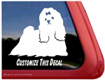 Maltese Window Decal