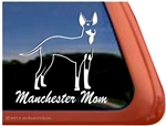 Manchester Terrier Window Decal
