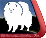 Custom Pomeranian Dog Car Truck RV Window Decal Sticker