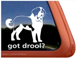 Saint Bernard Vinyl Dog Window RV Truck Car iPad Laptop Decal Sticker