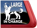 Saint Bernard Window Decal