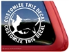 Custom Shetland Sheepdog Sheltie Car Truck RV Window Decal Sticker