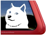 Custom Shiba Inu Wow Doge Car Truck RV Window Decal Sticker