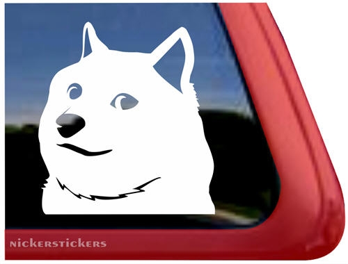 Custom Shiba Inu Wow Doge Decals Stickers NickerStickers - Custom car window decals stickers