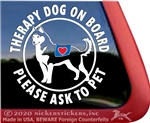 Siberian Husky Dog iPad Car Truck Window Decal Sticker