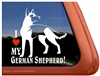 German Shepherd Window Decal