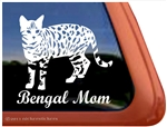 Bengal Window Decal