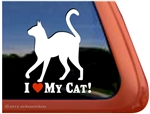 Kitty Window Decal