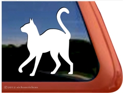 Custom Kitty Window Decal