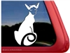 Custom Siamese Cat Vinyl Car Truck RV Window Decal Sticker