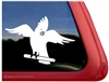 Custom Cockatoo Parrot Bird Car Truck RV Window Decal Sticker
