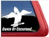 Cockatoo Window Decal