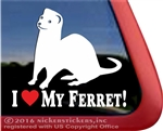 Ferret Window Decal