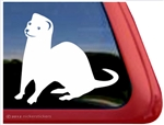 Custom Ferret Car Truck RV Window Decal Sticker