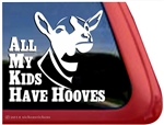 Dairy Goat Window Decal