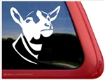 Custom Dairy Goat Car Truck RV Trailer Window Decal Sticker