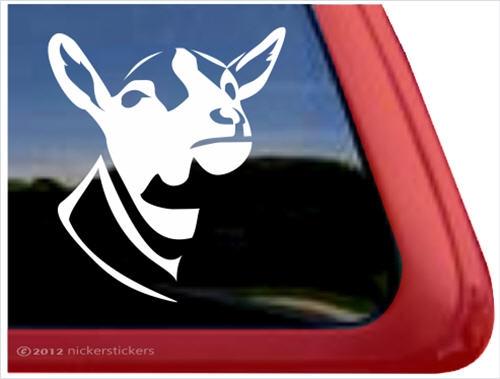 Custom Dairy Goat Decals Stickers NickerStickers - Custom window decals for trucks