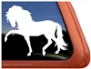 Custom Andalusian Horse Trailer Car Truck RV Window Decal Sticker