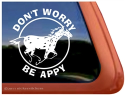 Appaloosa Leopard Window Decal