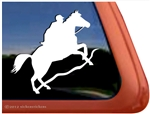 Custom Endurance Horse Trailer Window Decal