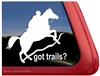 Endurance Horse Trailer Window Decal