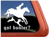 Foxhunt Horse Trailer Window Decal