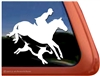 Custom Foxhunt Horse Trailer Car Truck RV Window Decal Sticker
