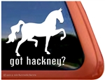 Hackney Window Decal