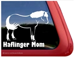 Haflinger Window Decal
