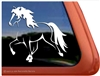 Custom Icelandic Horse Trailer Car Truck RV Window Decal Sticker