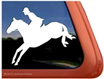 Jumper Trailer Window Decal