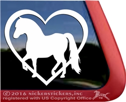 Custom Miniature Horse Vinyl Car Truck RV Trailer Window Decal Sticker
