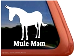 Mule Window Decal