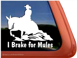 Mule Reiner Window Decal