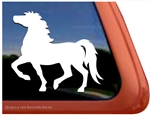 Mustang Horse Trailer Window Decal
