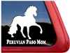 Peruvian Paso Vinyl Decal