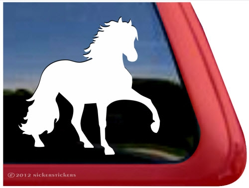 Custom peruvian paso horse trailer car truck rv window vinyl decal sticker larger photo email a friend