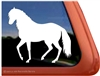 Custom Paso Fino Horse Trailer Car Truck RV Window Decal Sticker