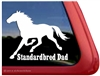 Standardbred Dad Horse Trailer Car Truck RV Window Decal Sticker