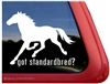 Got Standardbred Horse Trailer Car Truck RV Window Decal Sticker