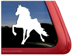 Custom Tennessee Walker Horse Trailer Car Truck RV Window Decal Sticker