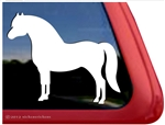 Custom Welsh Pony Horse Trailer Car Truck RV Window Decal Sticker