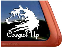 Wild Horse Horse Trailer Window Decal