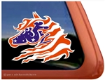 Custom Wild Horse Trailer Car Truck RV Window Decal Sticker