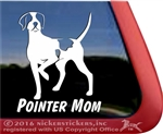 English Pointer Window Decal