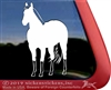 Custom Buckskin Horse Window Decal